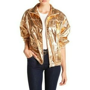 Unionbay Libby Bishop Rosegold Metallic Jacket L